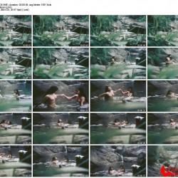 りある。とある山岳民族の少女2人が河原で水浴びしている姿を盗撮