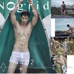 [PHOTO SET] NOGRID MEN ISSUE 02 – ROME PANUPONG