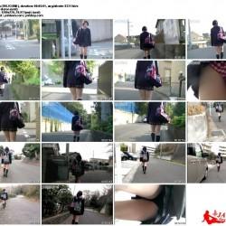 brmn69, 通学中に何度も撮られるJKちゃん vol.1