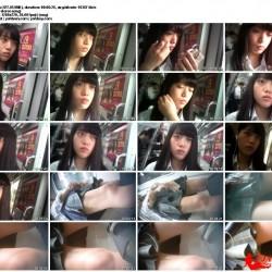 さかさ☆スタイル最高な美少女J&K!電車内で純白パンツ♪ertc5作品