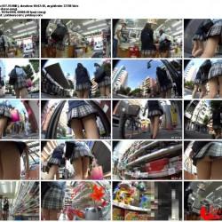 密着取材★合宿中な部活女子生着替え&私服のJ系逆さ撮りP!