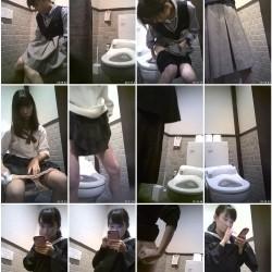 制服のC&K女子によく利用される或る施設の生トイレ映像!etc6本