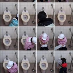 なつやすみ☆赤白帽の○学生に密着☆ナマ着替え&トイレ!ほか4本