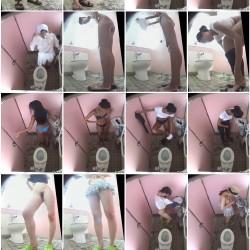 運動の祭の美少女c☆おさげぶっかけ逆さ☆セーラー娘のトイレ&着替え!etc10本超